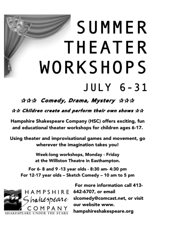 summer workshop flyer image