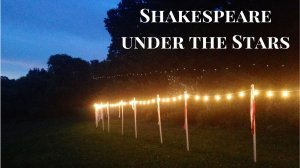 shakespeare under the stars